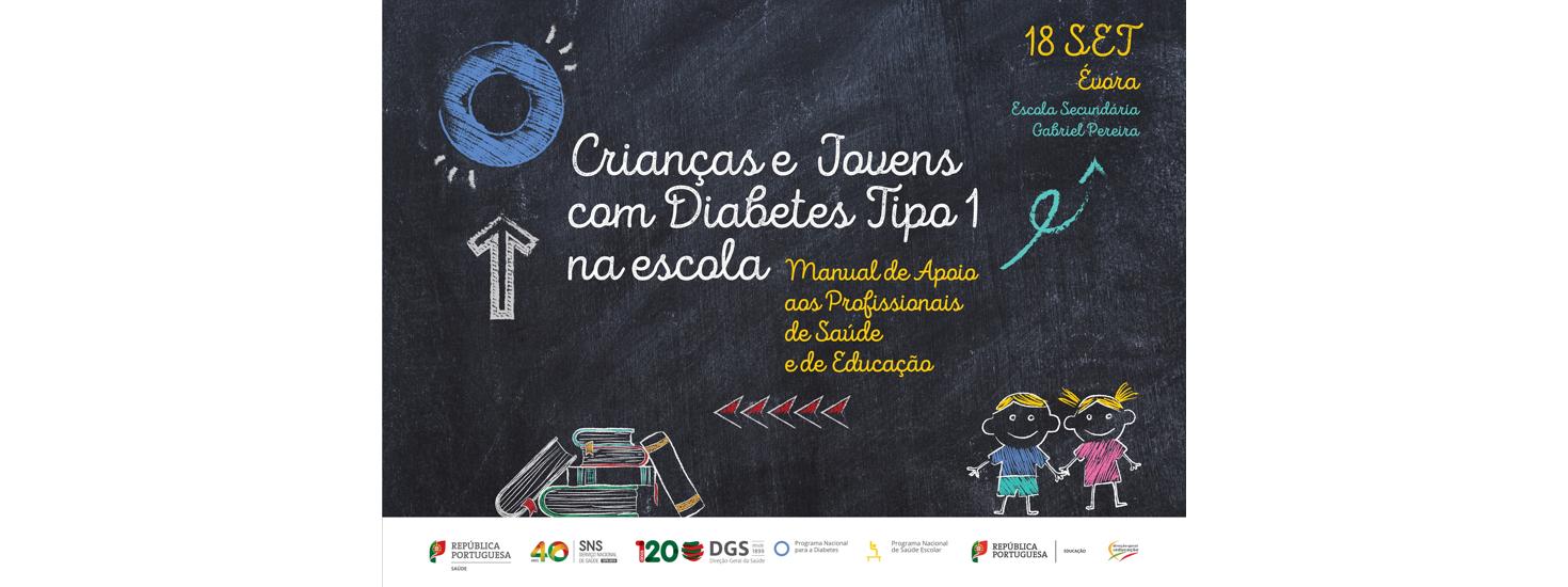 Crianças e jovens com diabetes mellitus tipo 1 – Manual de formação para apoio aos profissionais de saúde e de educação