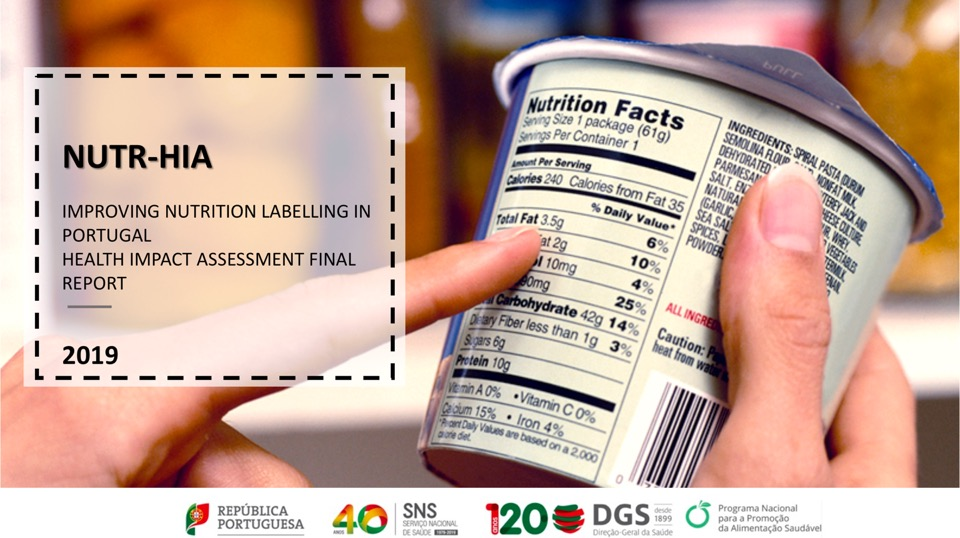 Nutr HIA – Improving nutrition labelling in Portugal – Health Impact Assessment