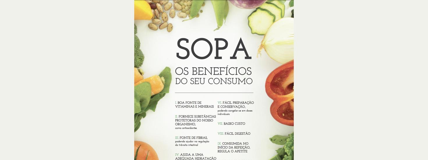 Sopa – Os benefícios do seu consumo