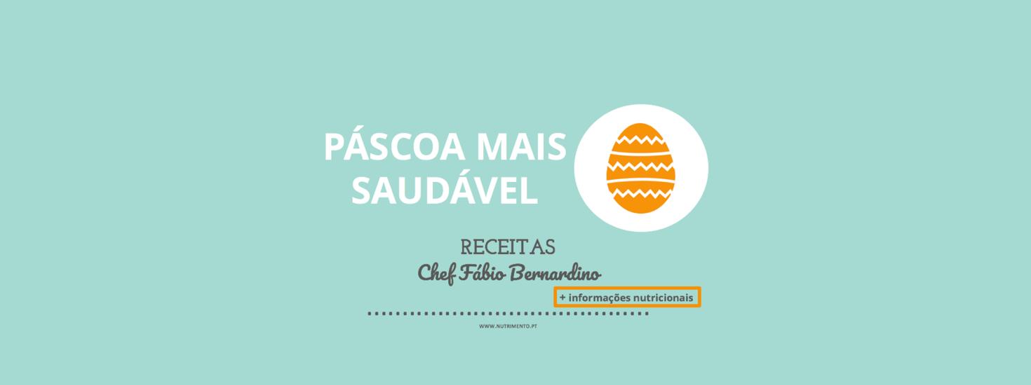 Páscoa mais saudável – receitas Chef Fábio Bernardino