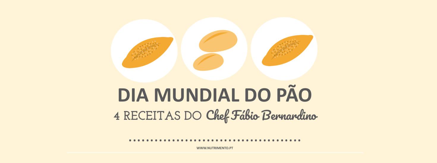 Dia Mundial do Pão – 4 receitas do Chef Fábio Bernardino