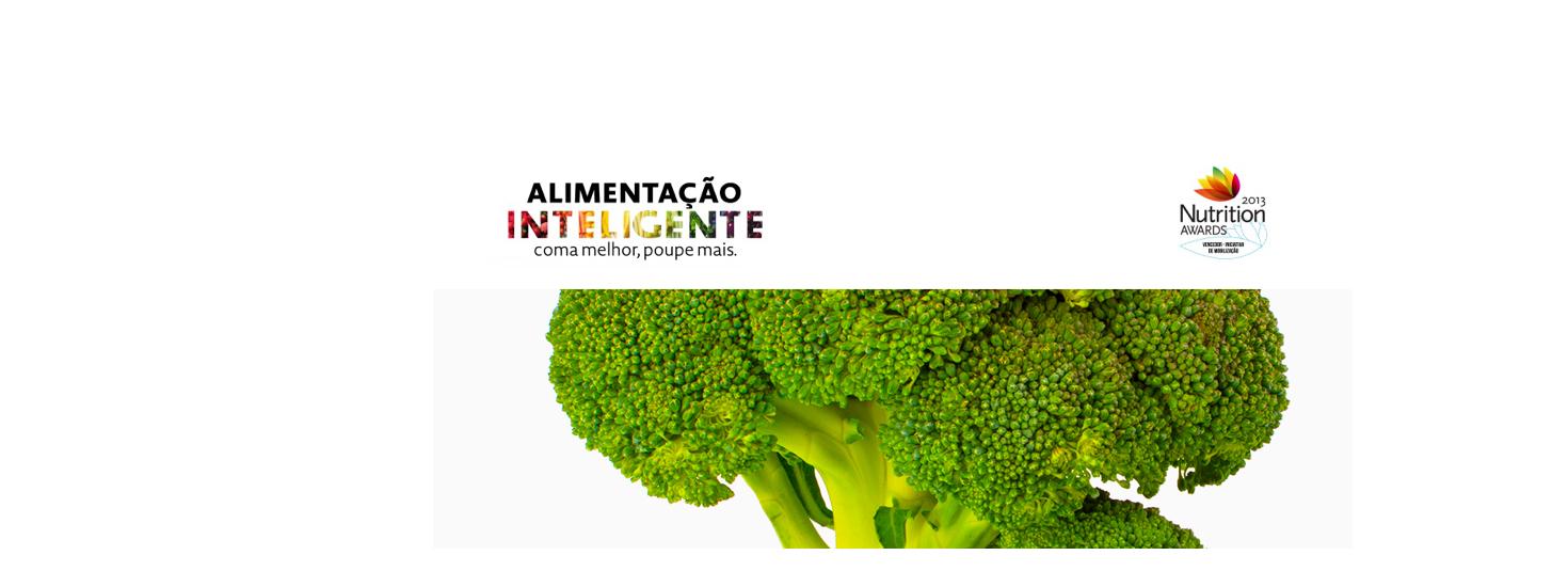 Alimentação inteligente – Coma melhor, poupe mais