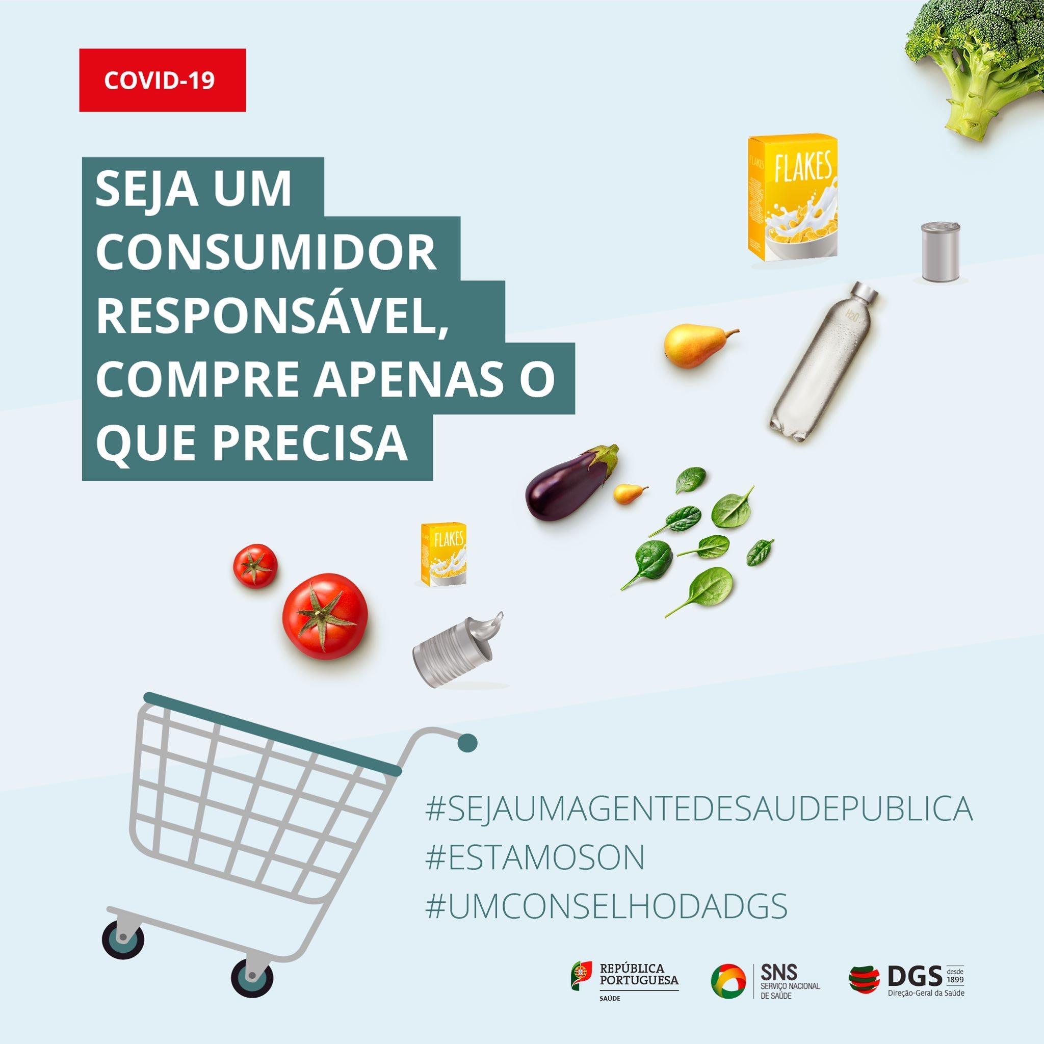 Seja um consumidor responsável, compre apenas o que precisa