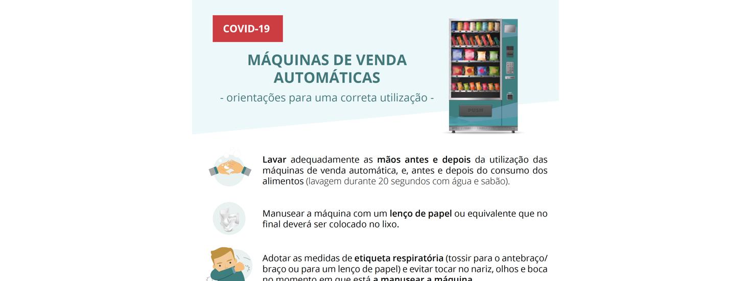 Máquinas de venda automática – Orientações para uma correta utilização