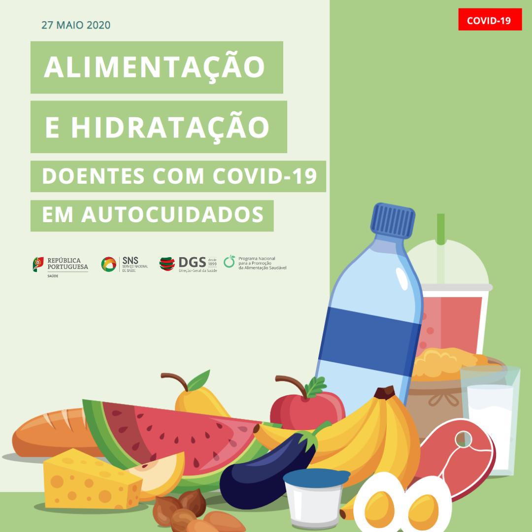Alimentação e hidratação em doentes com COVID-19 em autocuidados 1