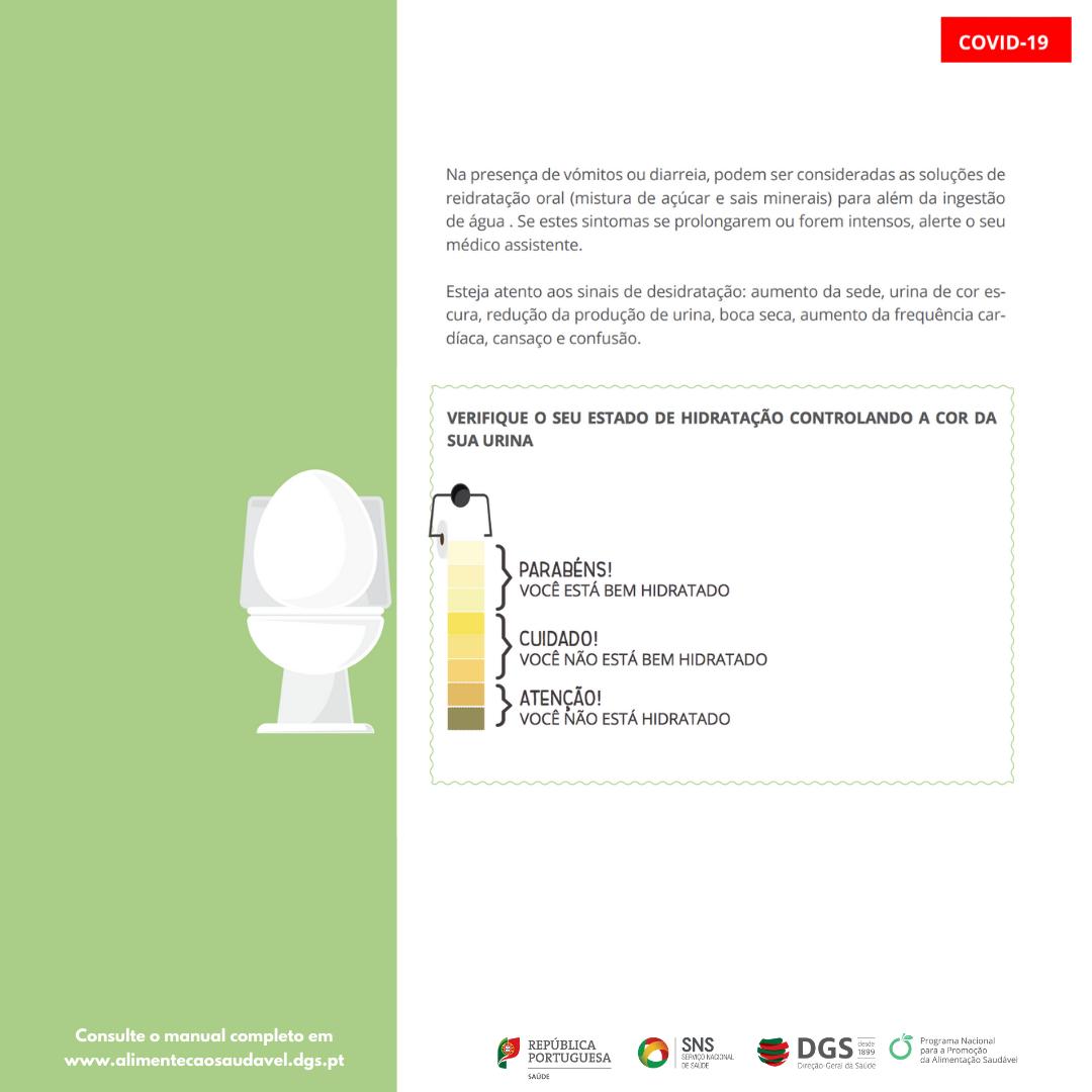 Alimentação e hidratação em doentes com COVID-19 em autocuidados 8