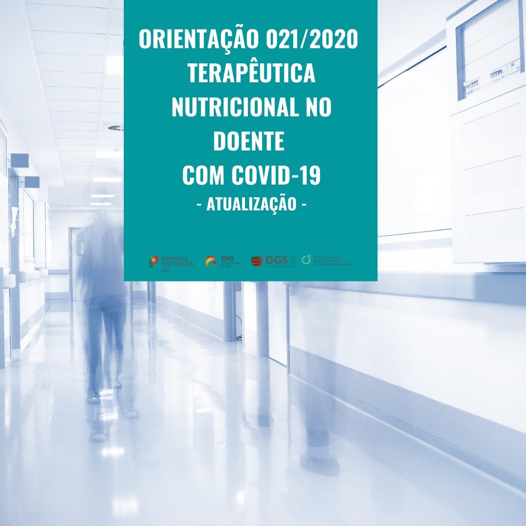 Orientação 021/2020: Terapêutica nutricional no doente com COVID-19